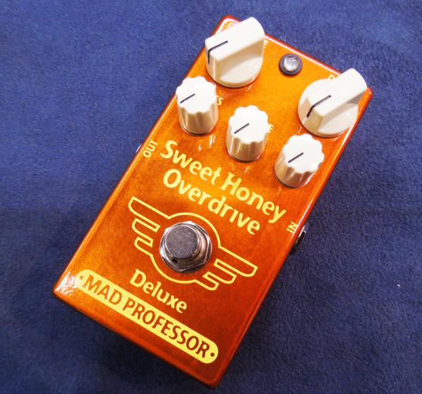 Mad Professor ( マッドプロフェッサー ) NEW Sweet Honey Overdrive Deluxe