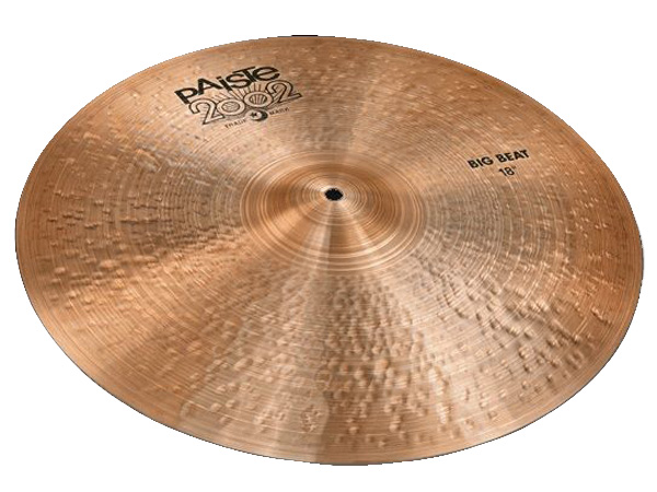 "Paiste ( パイステ ) BIG BEAT 18"" 2002 Black Big Beat Single ☆ ビッグビート"