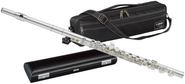 YAMAHA ( ヤマハ ) YFL-517 フィネス フルート 新品 頭部管 銀製 Eメカニズム付き カバードキイ オフセット AmType頭部管 主管 足部管 日本製 管楽器