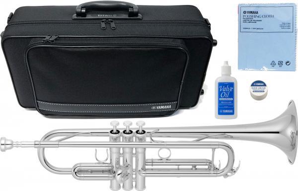 YAMAHA ( ヤマハ ) 送料無料 銀メッキ トランペット YTR-4335GS2 ゴールドブラスベル 新品 日本製 楽器 B♭ 本体 初心者 管楽器 マウスピース ケース付き