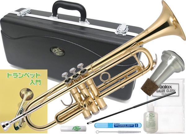 J Michael ( Jマイケル ) TR-200 トランペット 新品 管楽器 ゴールド 本体 B♭ Trumpet gold ミュート セット C 北海道不可 沖縄不可 離島不可