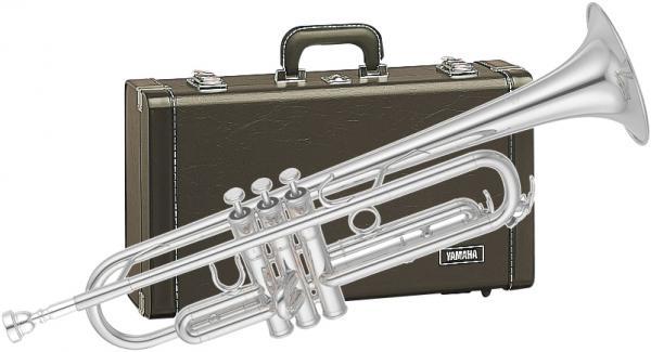 YAMAHA ( ヤマハ ) 送料無料 プロフェッショナル トランペット YTR-6310ZS 新品 銀メッキ イエローブラスベル1枚取り 日本製 楽器 B♭ 管体 管楽器