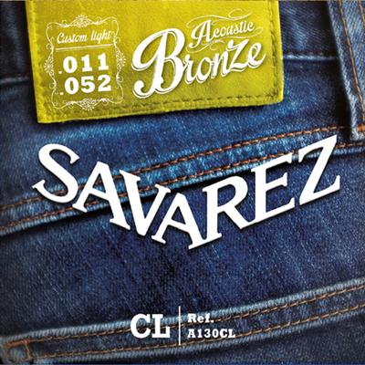SAVAREZ ( サバレス ) A130CL ブロンズ/CUSTOM LIGHT 011-052