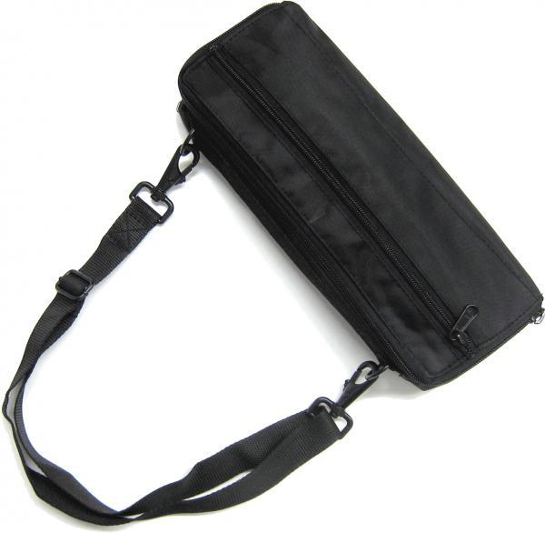 J Michael ( Jマイケル ) ピッコロ ケースカバー PCB-201 カラー ブラック Jマイケル ショルダーストラップ付 ピッコロケース 管楽器 収納 piccolo case