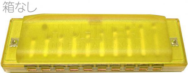 HOHNER ( ホーナー ) ハーモニカ 10本セット かわいい ハッピー カラーハーモニカ スケルトン ブルースハープ型 10穴 楽器 レッド ブルー イエロー グリーン