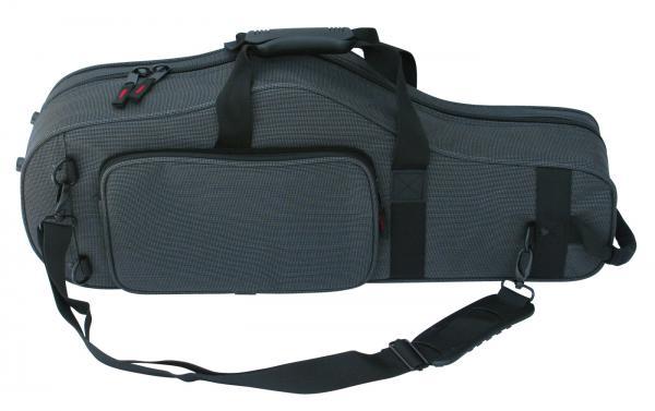 肩掛け アルトサックスケース GATOR GL-ALTOSAX-MPC ブラック ストラップ 1本 軽量 セミハードケース 管楽器 アルトサクソフォン ケース