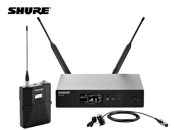 SHURE ( シュア ) QLXD14/85-JB  ◆ ラベリアマイク、ボディパック型送信機 ワイヤレスマイクシステム B帯モデル