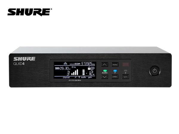 SHURE ( シュア ) QLXD4J-JB ◆  QLX-D Series 受信機 1chモデル B帯モデル