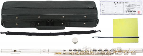 MAXTONE ( マックストーン ) TF-40S フルート 新品 銀メッキ 初心者 管楽器 本体 頭部管 主管 足部管 カバードキイ C管 TF40S silver plated