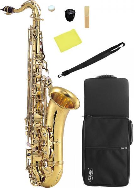 Kaerntner ( ケルントナー ) テナーサックス KTN65 新品 サックス 管体 ゴールド 初心者 管楽器 本体 ケース マウスピース 練習用 楽器 テナーサクソフォン