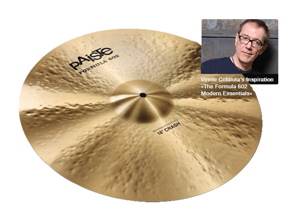 "Paiste ( パイステ ) FORMULA 602 MODREN ESSENTIALS CRASH 22"" ☆ クラッシュ"