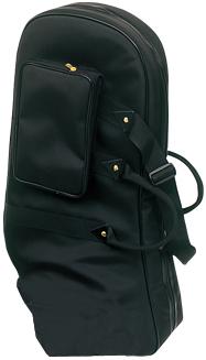 送料無料 軽量 ユーフォニアム ケース リュックタイプ 持ち運び ソフトケース ブラック スコット・リュック式 管楽器 バッグ 【 euphonium cases bag 】