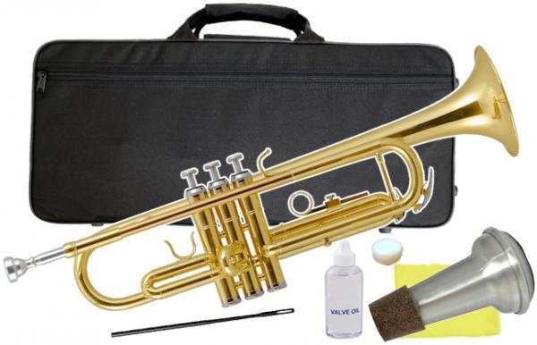 Kaerntner ( ケルントナー ) 送料無料 サイレンサー セット トランペット ゴールド KTR-30 ゴールド 新品 B♭ 楽器 本体 管楽器 【 KTR30 Gold ミュート 】