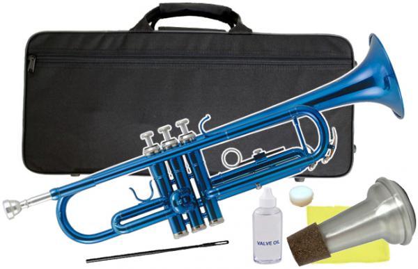 Kaerntner ( ケルントナー ) KTR-30 MBL トランペット 青色 新品 B♭ 楽器 初心者 本体 管体 カラー メタリック ブルー trumpet metallic blue 管楽器 【 KTR30 MBL ミュート 】