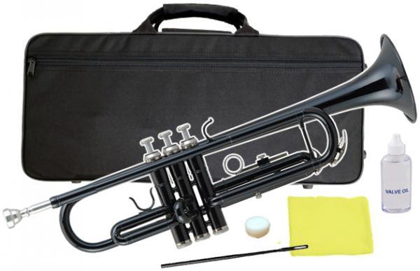 Kaerntner ( ケルントナー ) KTR-30 トランペット ブラック 新品 初心者 入門 管楽器 本体 黒色 カラー B♭ Trumpets black 金管楽器 KTR30 BK