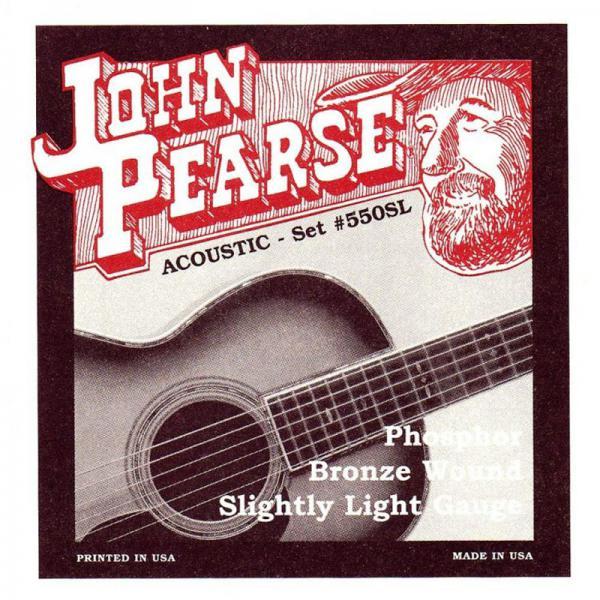 John Pearse Strings ( ジョンピアス ) 550SL フォスファーブロンズ/CUSTOM LIGHT 011-050
