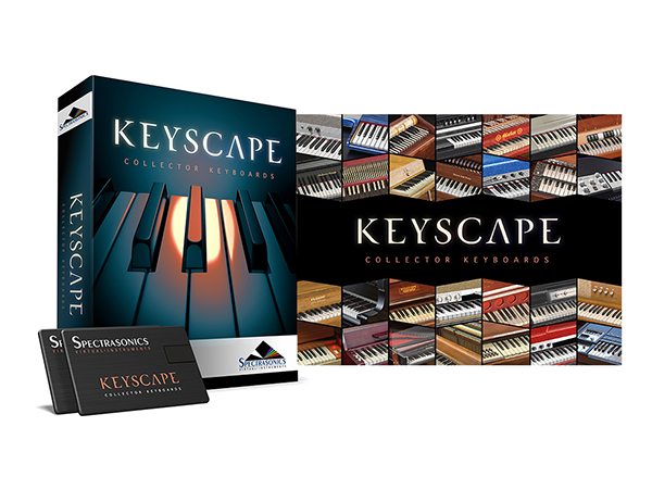 Spectrasonics Keyscape (USB Drive)  ◆【在庫あります。】