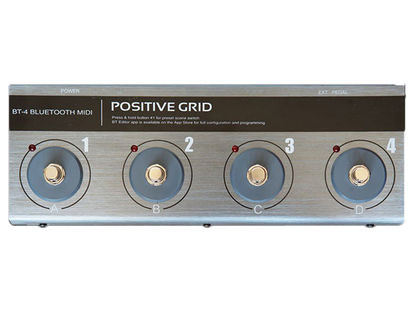 POSITIVE GRID ( ポジティブグリッド ) BT-4 BLUETOOTH MIDI PEDAL