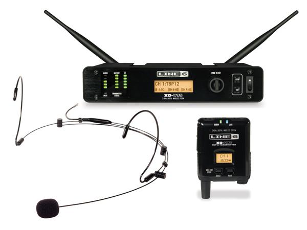 LINE6 ( ラインシックス ) XD-V75HS (ブラック)[ OUTLET 特価品 ] ◆ 2.4GHz帯デジタルワイヤレスマイクシステム ヘッドセットマイク