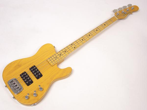 G&L USA ASAT BASS / Nitro Butterscotch Blonde / Maple Fingerboard