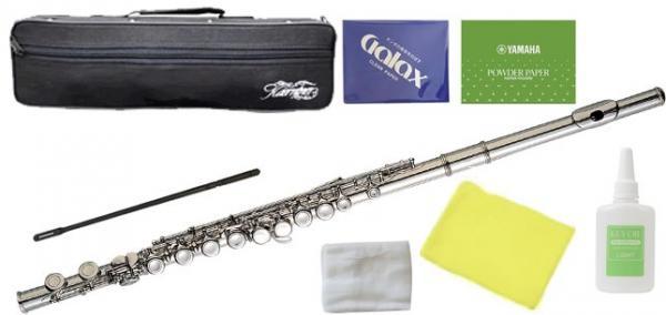 Kaerntner ( ケルントナー ) KFL-25 フルート 新品 Eメカニズム C管 管楽器 カバードキイ 本体 練習用 KFL25 flute セット B  沖縄 離島不可