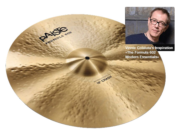 "Paiste ( パイステ ) FORMULA 602 MODREN ESSENTIALS CRASH 17"" ☆ クラッシュ"