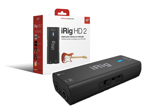 IK MULTIMEDIA iRig HD 2 ◆【国内正規品】