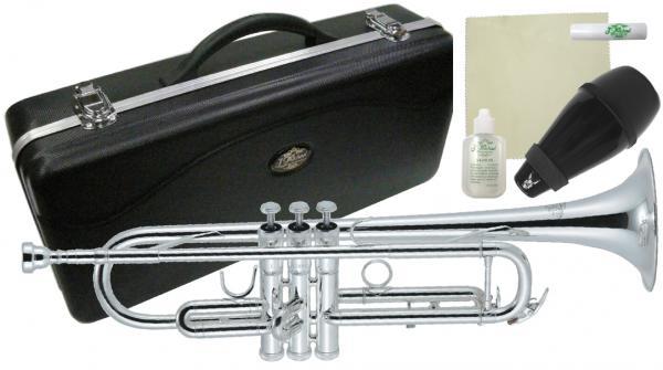 J Michael ( Jマイケル ) TR-300S トランペット 新品 アウトレット 銀メッキ 管楽器 B♭ 本体 初心者 Trumpet セット D 北海道 沖縄 離島 同梱 代引き不可