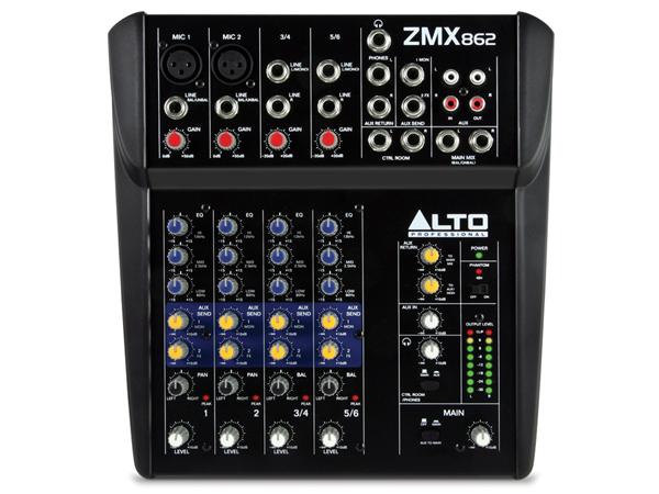 ALTO Professional ( アルト ) ZMX862 ◆ 6ch コンパクトミキサー