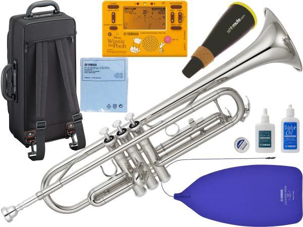 YAMAHA ( ヤマハ ) YTR-3335S ジブリで吹く トランペット 正規品 銀メッキ リバース シルバー B♭ YTR-3335S-01 Trumpet セット 北海道 沖縄 離島 不可