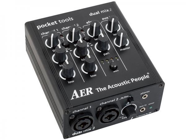 AER ( エーイーアール ) dual mix 2 【アコースティック プリアンプ  KH 】