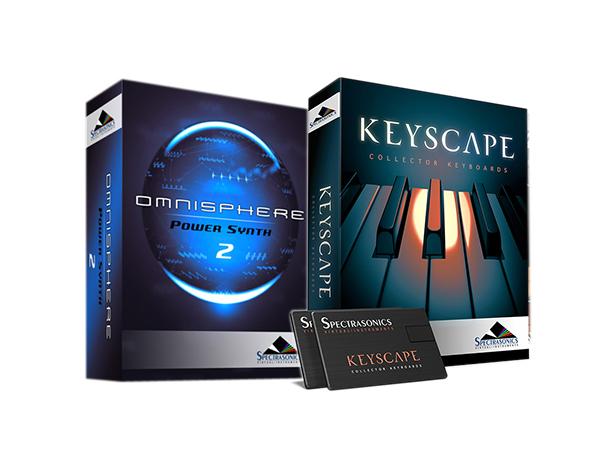 Spectrasonics Keyscape × Omnisphere 2 (USB Drive) セット