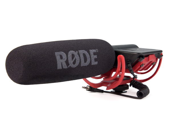 RODE ( ロード ) VideoMic Rycote ◆ ビデオカメラ用コンデンサーマイク