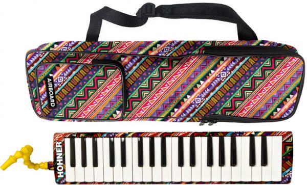 HOHNER ( ホーナー ) メロディカ エアボード37 鍵盤ハーモニカ 37鍵 Airboard 37 本体 ケース 立奏用 吹き口 ホース 3オクターブ F3-F6 楽器 北海道 沖縄 離島不可