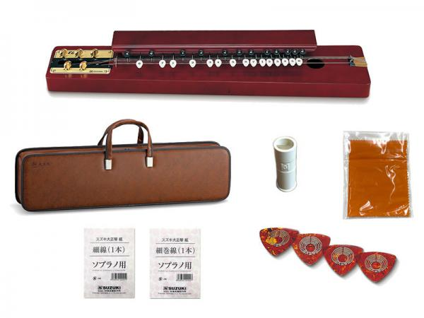 SUZUKI ( スズキ ) 特松 (とくまつ) 大正琴 和楽器 アコースティックタイプ 5絃 弦