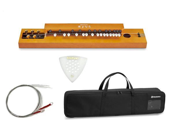 SUZUKI ( スズキ ) あすなろ TAS-12 大正琴 和楽器 アコースティックタイプ 5絃 弦