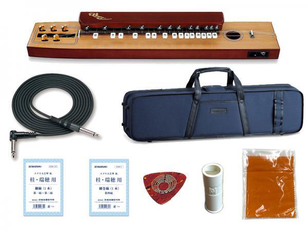 SUZUKI ( スズキ ) 桂 (かつら) TAS-11 大正琴 電気大正琴 箱型 和楽器【エレアコタイプ/5絃】