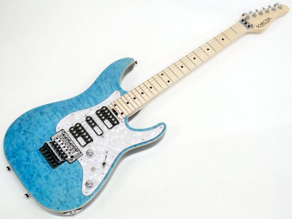 SCHECTER ( シェクター ) SD-2-24-AL (Aqua Blue /M)【日本製 エレキギター   】