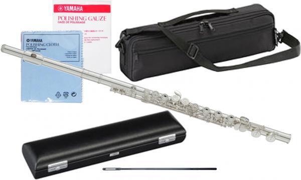 YAMAHA ( ヤマハ ) YFL-212 フルート 正規品 Eメカニズム 銀メッキ カバードキイ オフセット 管楽器 C管 standard flute 北海道 沖縄 離島不可