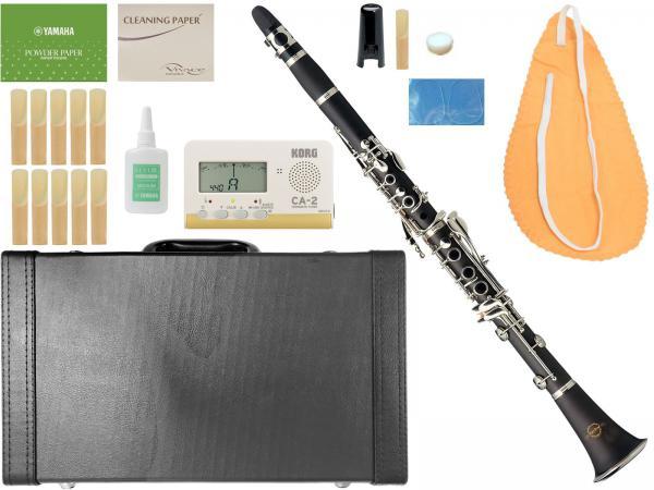MAXTONE ( マックストーン ) CL-40 クラリネット 新品 調整済 初心者 管楽器 プラスチック製 B♭ 本体 マウスピース リード 樹脂製 clarinet セット E 北海道 沖縄 離島不可