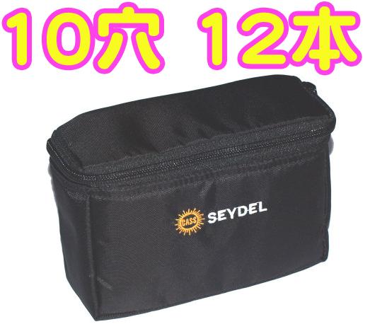 Seydel ( サイドル ) ベルトバッグ ハーモニカケース ブルースハープ 12本 ハーモニカ ソフト ケース 10ホールズ 930012