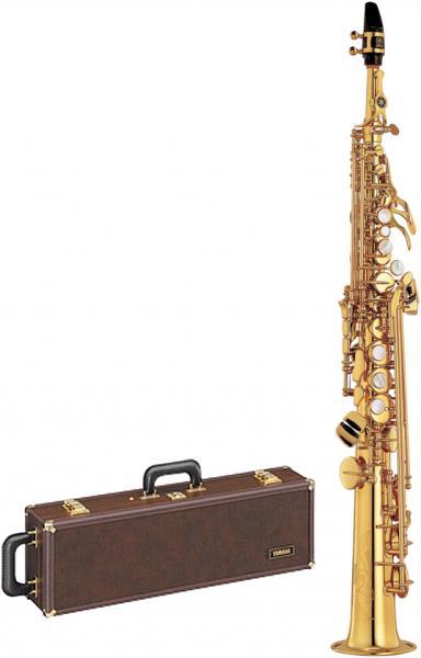 YAMAHA ( ヤマハ ) YSS-675 ソプラノサックス 正規品 日本製 本体 デタッチャブルネック ストレート 管体 ゴールド 管楽器 soprano saxophone 北海道 沖縄 離島不可