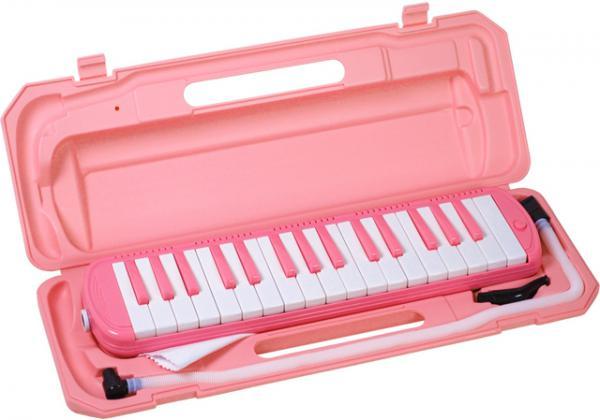 鍵盤ハーモニカ 32鍵 サクラ 1台 SAKURA PINK スタンダード アルト ケンハモ 鍵盤楽器 ピンク鍵盤 カラー鍵盤 楽器 北海道 沖縄 離島不可