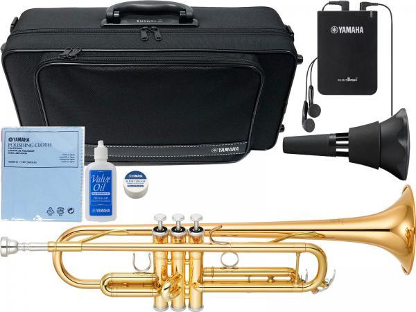 YAMAHA ( ヤマハ ) YTR-4335G2 トランペット 新品 ゴールドブラス B♭ YTR-4335GII Trumpets gold YTR-4335G-2-01 サイレントブラス SB7X セット 北海道 沖縄 離島不可