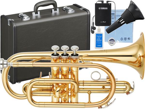 YAMAHA ( ヤマハ ) YCR-2330lll コルネット ラッカー ゴールド B♭ 管楽器 YCR-2330-3 Bb Cornet ショート サイレントブラス セット 北海道 沖縄 離島不可