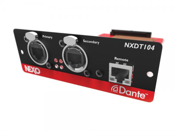 NEXO ( ネキソ ) NXDT104 Mk2 ◆ NXAMP拡張用 Danteネットワークカード オプションカード