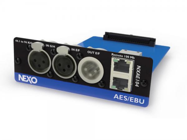 NEXO ( ネキソ ) NXAE104 ◆ NXAMP拡張用 AES/EBU カード オプションカード