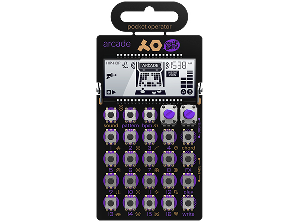 Teenage Engineering ( ティーンエイジ エンジニアリング ) PO-20 arcade ◆ pocket operator