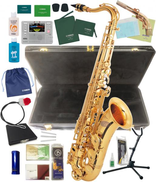 送料無料 イオ テナーサクソフォン TS1085 GL 管体 B♭ ゴールド IO 初心者 テナーサックス 管楽器 楽器 サックス 【 TS-1085GL セット 】