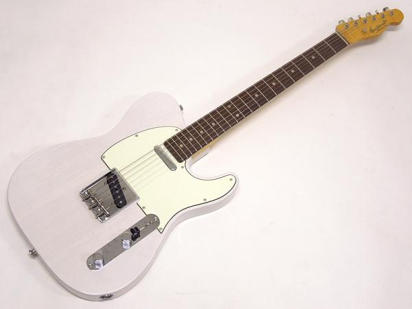 Vanzandt TLV-R3 Flame Neck LTD STD / See Through White / Rosewood FingerBoard #7949